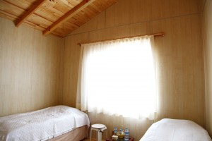 Ankara Ahşap Ev - Yatak Odası