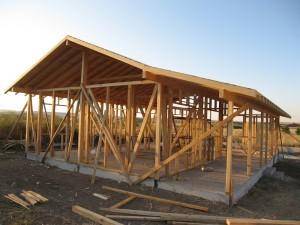 Ahşap Ev Çatı Yapımı