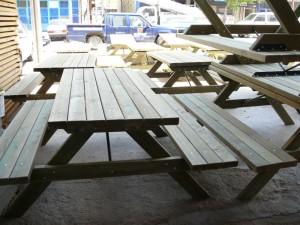Ahşap Piknik Masaları