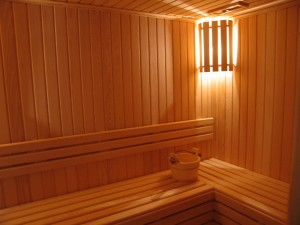 Sauna İç Döşeme