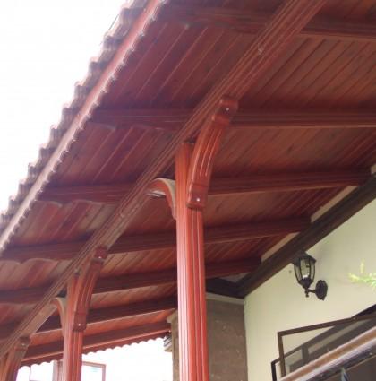 Balkon Lambri Döşeme