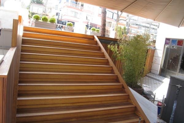 İroko -İreko- Dış Mekan Merdiven Kaplama